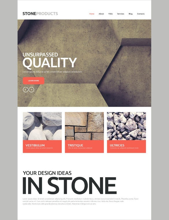 flooring furniture products website template