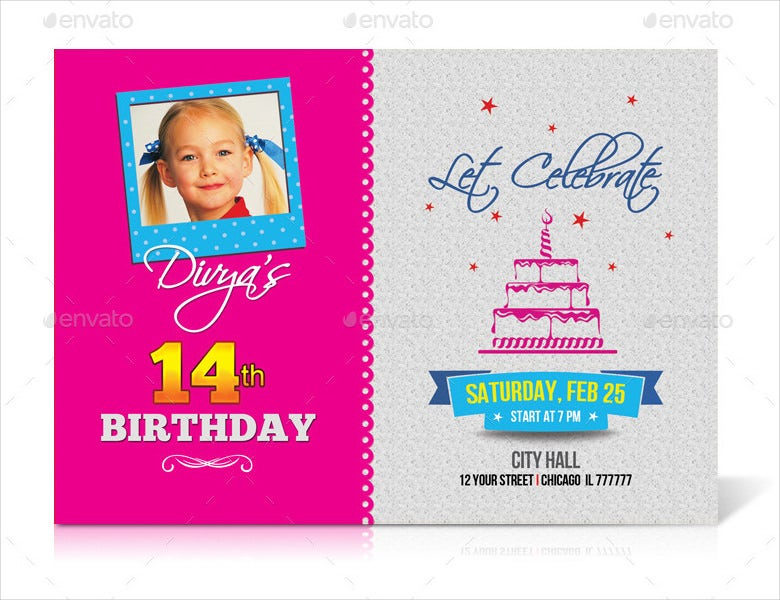 fancy invitation card template
