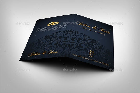corporate invitation card template