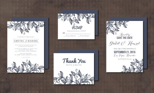 ornament invitation card template