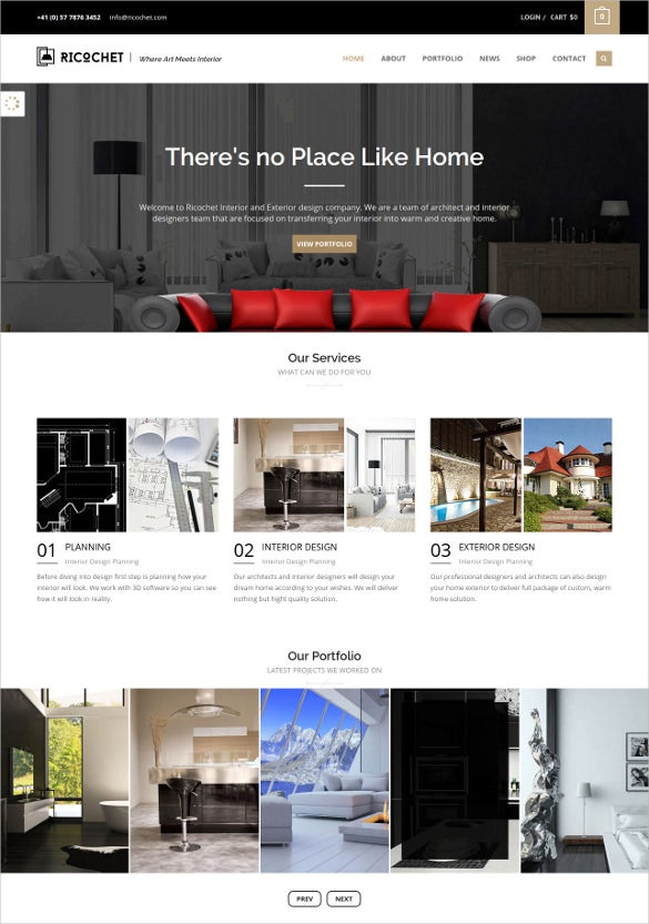 27 furniture website themes templates free premium templates