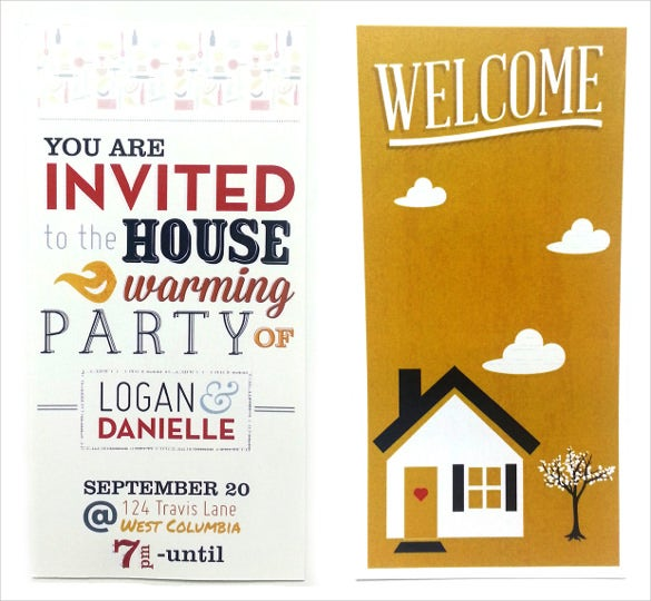fully editable housewarming invitation template