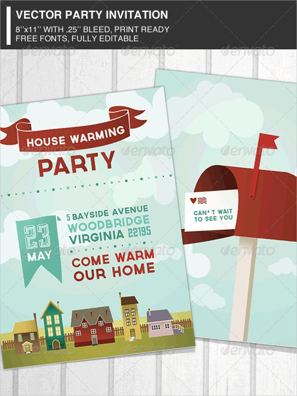 housewarming invitation template 30 free psd vector eps ai format download free. Black Bedroom Furniture Sets. Home Design Ideas