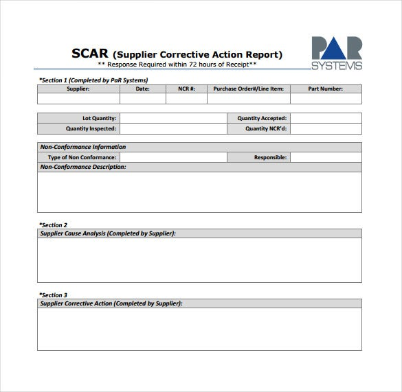 17 non conformance report templates pdf doc free for Ncr label templates