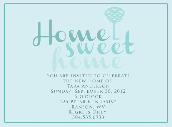 Housewarming Invitation Template   30+ Free Psd, Vector Eps, Ai, Invitation  Templates