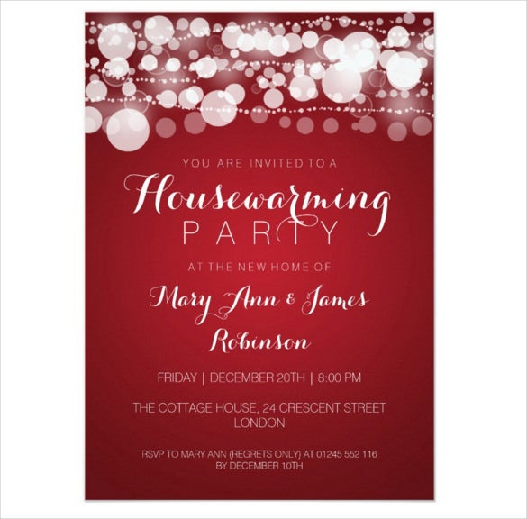 free housewarming invitations templates