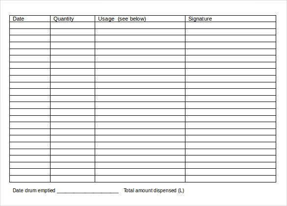 15  bar inventory templates  u2013 free sample  example  format