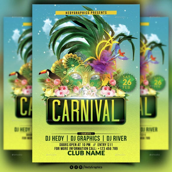 poster carnival flyer template