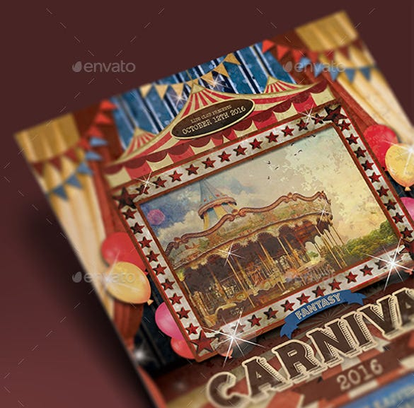 mexico carnival flyer template