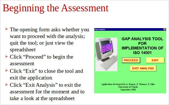 gap analysis tools & template - 10+ free word, pdf document, Presentation templates