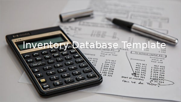 inventorydatabasetemplate