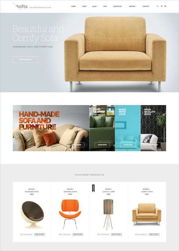 multipurpose furniture psd templates