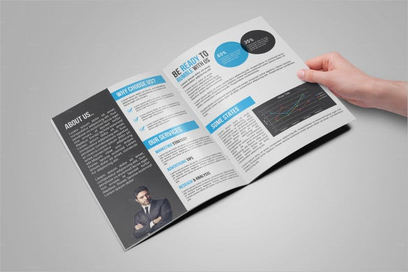 bi fold medical brochure template download