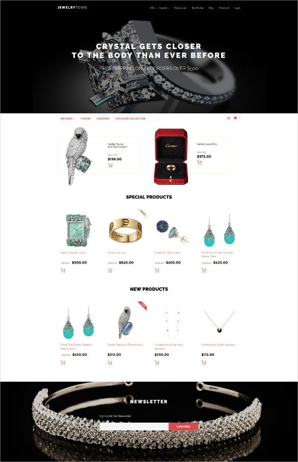 jewelrytown magento joomla theme
