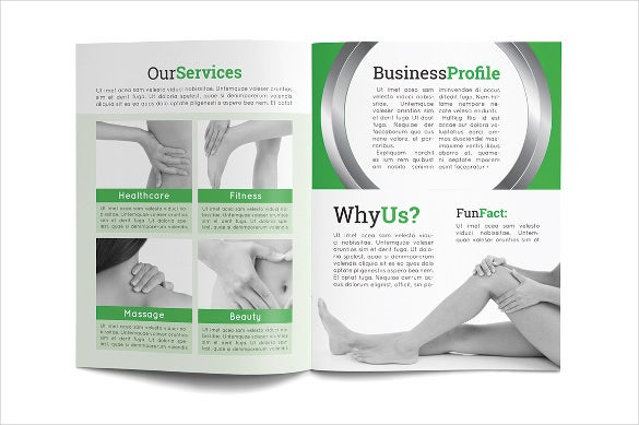 healthcare medical brochure template