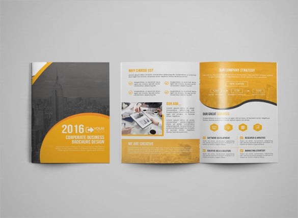 multi use medical brochure template