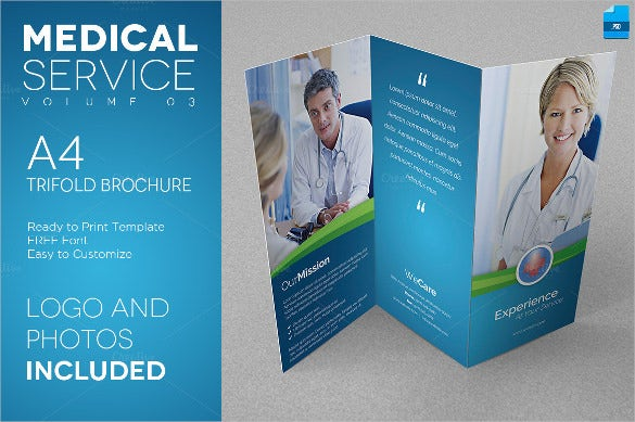 Medical brochure templates 41 free psd ai vector eps for Medical office brochure templates