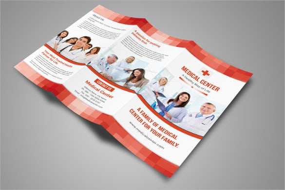 3 fold medical brochure template