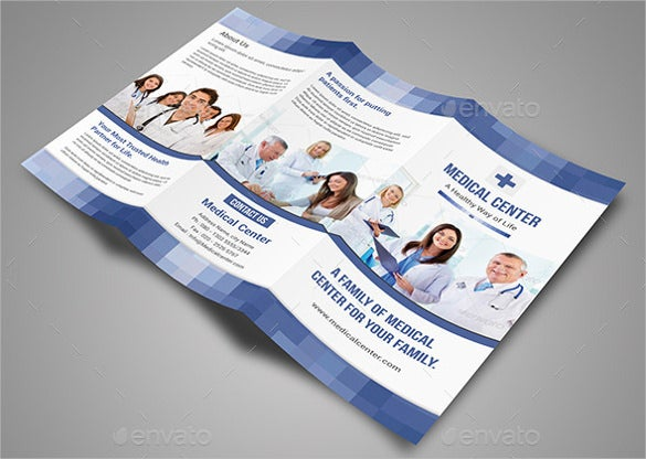 universal medical brochure template