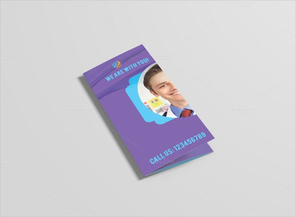 attractive medical brochure template