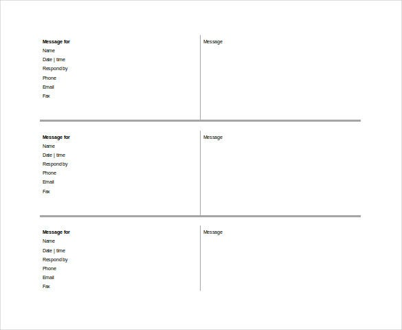 Telephone Call Log Template Free Doc Format Template