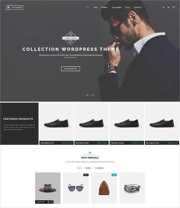 voisen woocommerce responsive fashion theme
