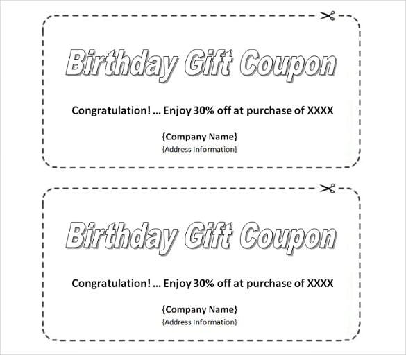 coupon templates free printable – Printable Coupon Templates Free