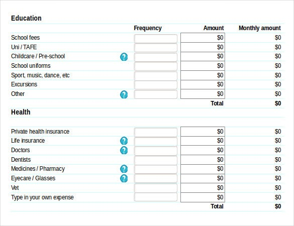 budget planner inventory spreadsheet template free download