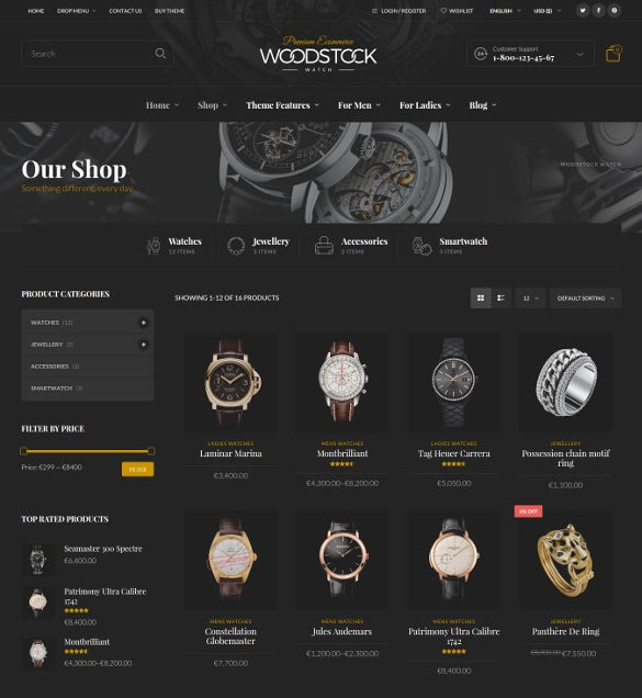 woodstock responsive woocommerce wordpress theme