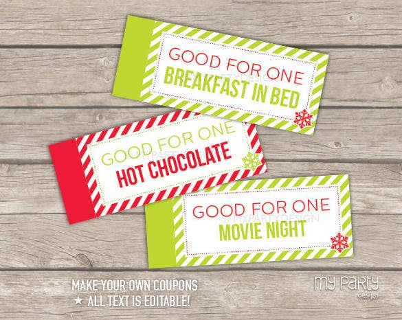 37  coupon book templates