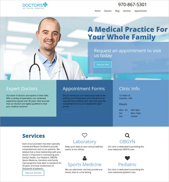 medwp medical wordpress theme