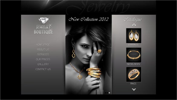 Jewelry Website Themes  Templates  Free  Premium Templates