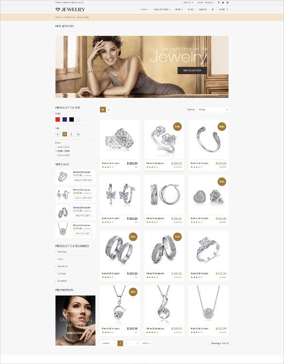 jewelry responsive shopify bootstrap theme