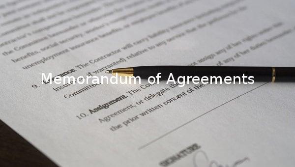 memorandumofagreementtemplate
