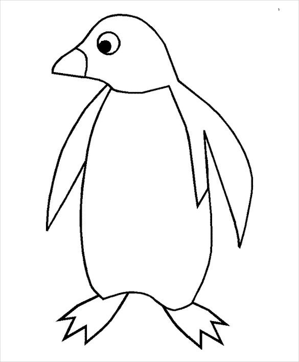 penguin template free