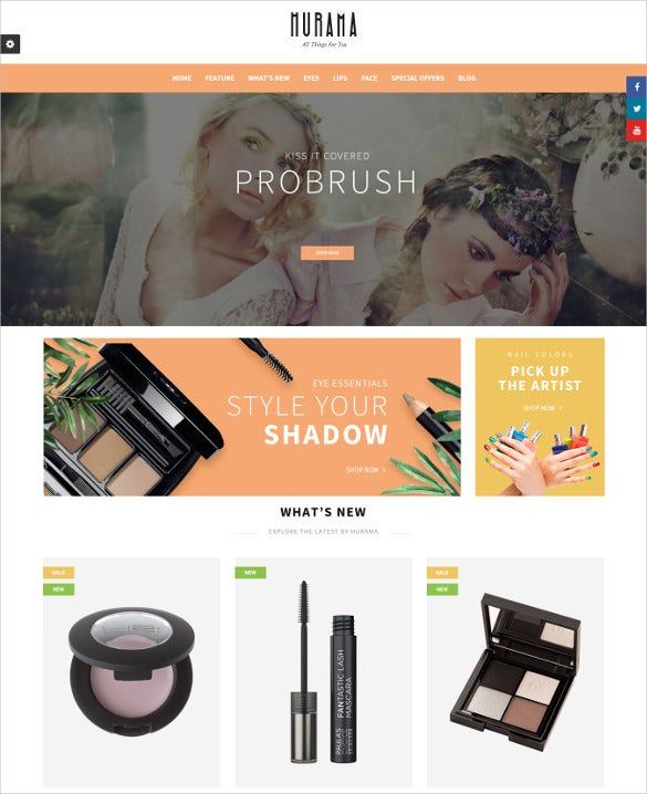 hurama responsive multipurpose opencart blog theme