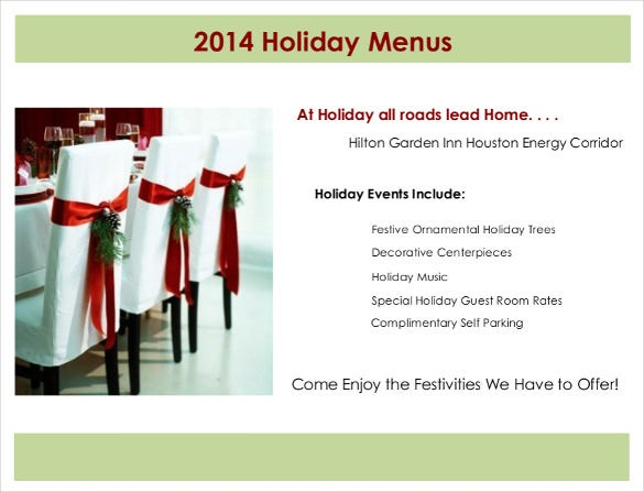 houengi holiday menu pdf template download