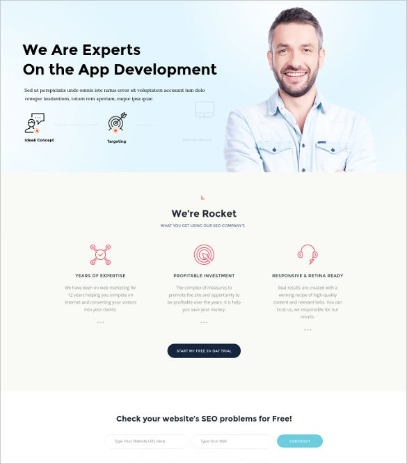 seo rocket seo marketing wordpress blog theme