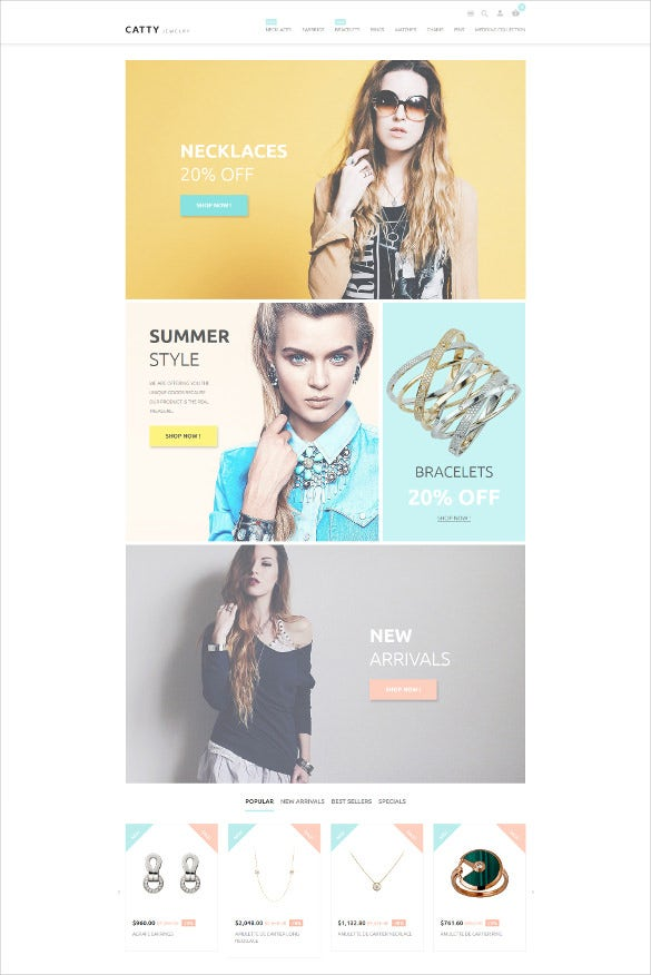 jewelry prestashop bootstrap theme