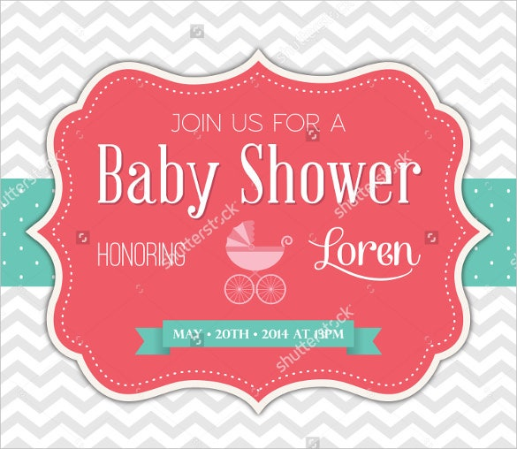 Formal invitation templates 62 free psd vector eps ai format vector illustrator baby shower formal invitation template stopboris Gallery