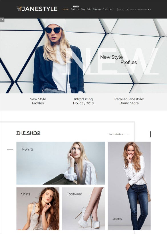 apparel responsive shopify blog theme