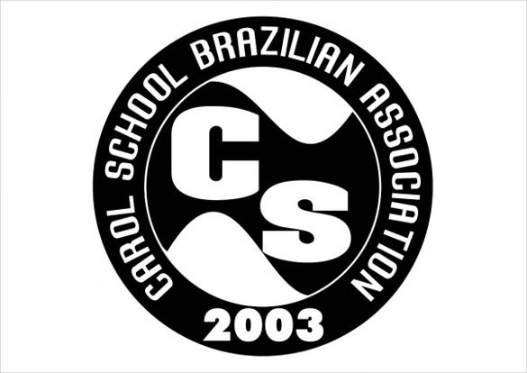 vector logo carol school