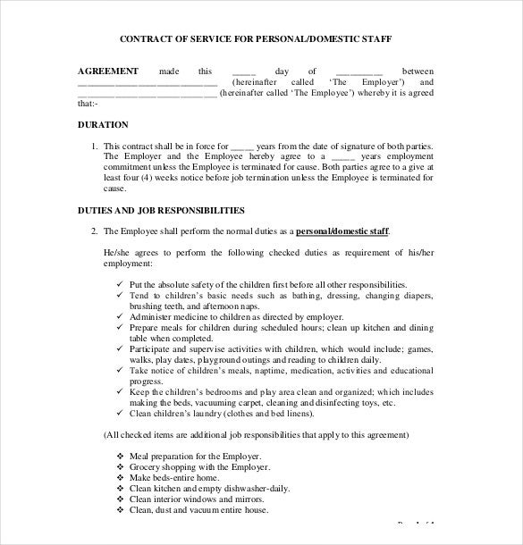 Job Agreement Contract. Contract Renewal Request Letter Template