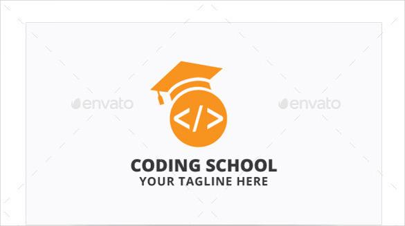 coding school logo