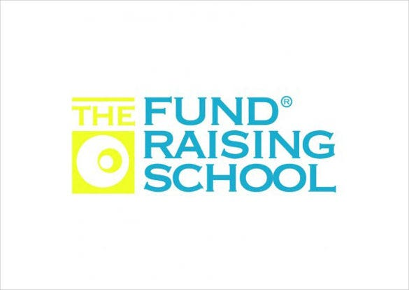 vector logo the fund raising school