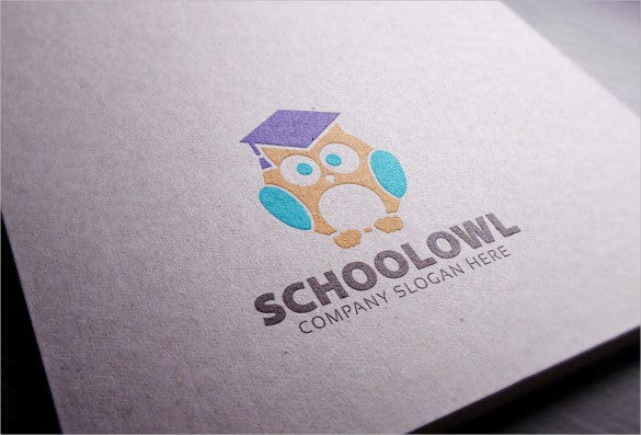 smart school logo template
