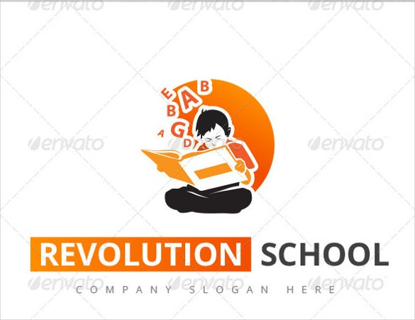 revolution school logo