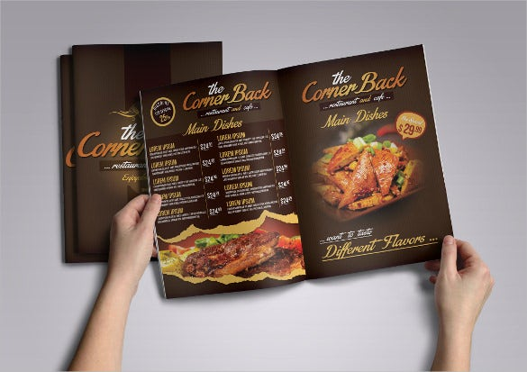 Restaurant Menu Templates  Free Sample Example Format Download