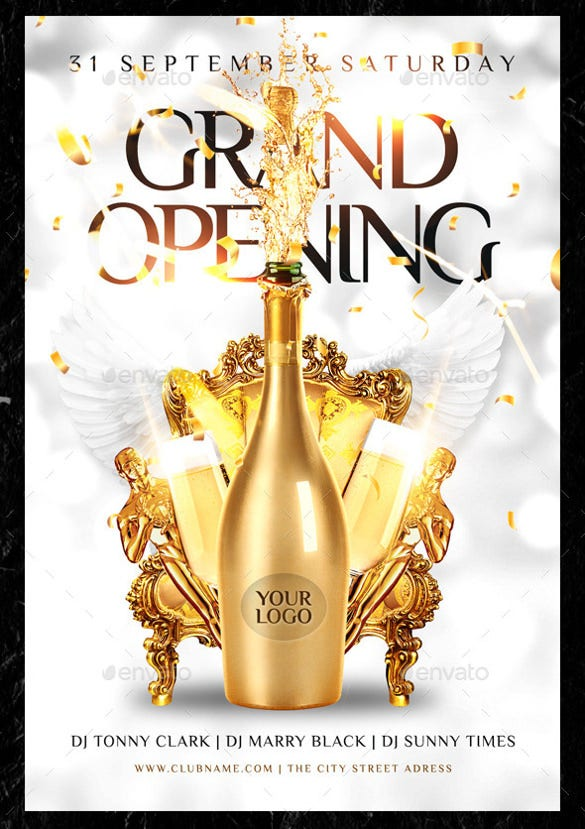 grand opening flyer template 34 free psd ai vector eps format download free premium. Black Bedroom Furniture Sets. Home Design Ideas