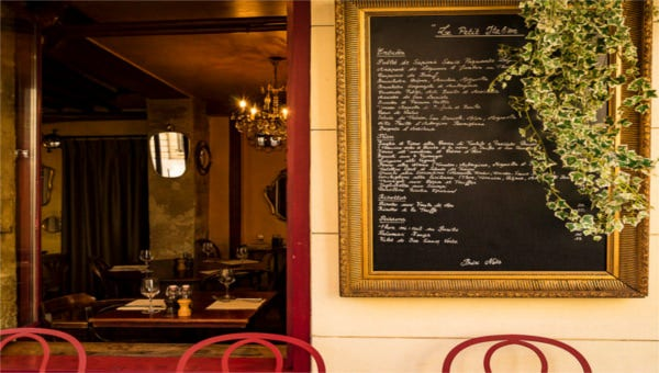 featured image restaurant menu template
